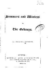 Summers and Winters in the Orkneys