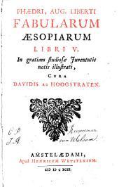 Fabularum Æsopiarum libri V: Volume 1