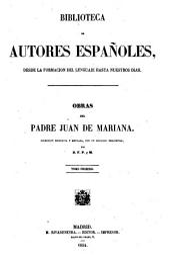 Obras del padre Juan de Mariana: Volumen 2;Volumen 31