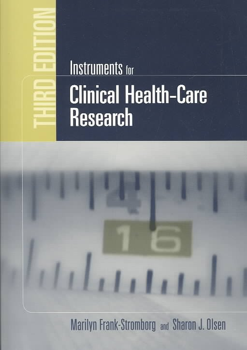 Instruments for Clinical Health-care Research