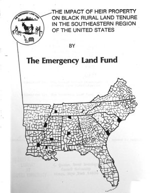 The Impact of Heir Property on Black Rural Land Tenure in the Southeastern Region of the United States PDF