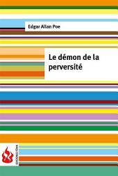 Le démon de la perversité (low cost). Édition limitée