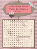Word Search Recipe Puzzle Book