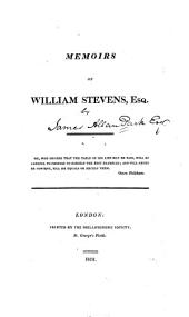 Memoirs of William Stevens, Esq