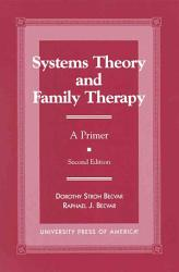 Systems Theory And Family Therapy Book PDF