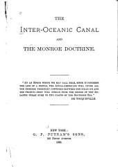 The Inter-oceanic Canal and the Monroe Doctrine ...