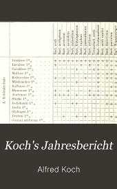 Koch's Jahresbericht: Band 13;Band 1902