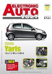 Manuale di elettronica Toyota Yaris Benzina: 1.0 e 1.3 VVT Diesel 1.4 D4-D - EAV12