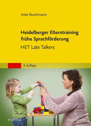 Heidelberger Elterntraining fr  he Sprachf  rderung PDF
