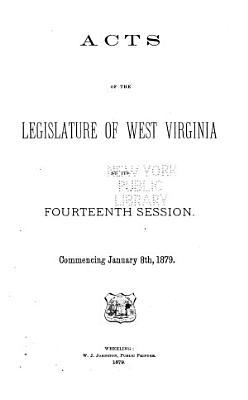 Acts of the Legislature of West Virginia PDF