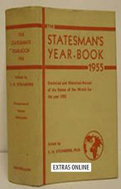 The Statesman's Year-Book: Statistical and Historical Annual of the States of the World for the Year 1955, Edition 92