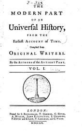 An Universal History, from the Earliest Account of Time: Volume 22