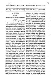 Sherwin's weekly political register [formerly The Republican].: Volume 14