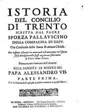 Istoria del Concilio di Trento: Volume 1