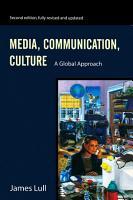 Media  Communication  Culture PDF