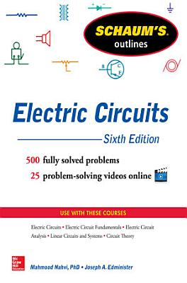 Schaum s Outline of Electrical Circuits  6th edition  ebook  PDF
