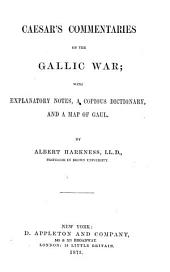 Caesar's Commentaries on the Gallic War ...: Books 1-4