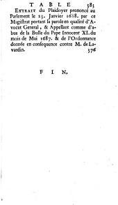 Mandement et instruction au sujet de l'appel, qu'il a interjette avec les Eveques de Mirepoix de Senez et de Montpellier au futur concile general de la constitution de Clement XI du 8. Septembre 1713. 2. ed.