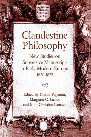 Clandestine Philosophy