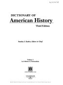 Dictionary of American History  La Follette to Nationalism PDF
