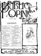 Public Opinion: Volume 18