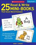 25 Read and Write Mini Books That Teach Word Families Book