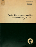 Senior Management and the Data Processing Function