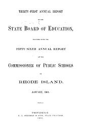 Annual Report of the Board of Education: Volume 31