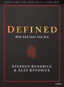 Defined   Teen Guys Bible Study Book PDF