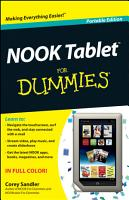 NOOK Tablet For Dummies PDF