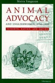Animal Advocacy and Englishwomen  1780 1900 PDF