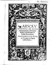 Absolutissimus de octo orationis partium constructione libellus, emendatus per D. Erasmum Roterodamum. Ioannes Sulpitius Verulanus de figuris constructionis