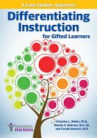 Differentiating Instruction for Gifted Learners PDF