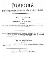 Hesperus: encyclopädische Zeitschrift für gebildete Leser. 1821,1