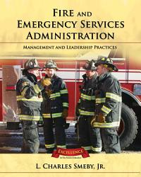 Fire And Emergency Services Administration Book PDF