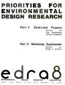 Priorities for Environmental Design Research