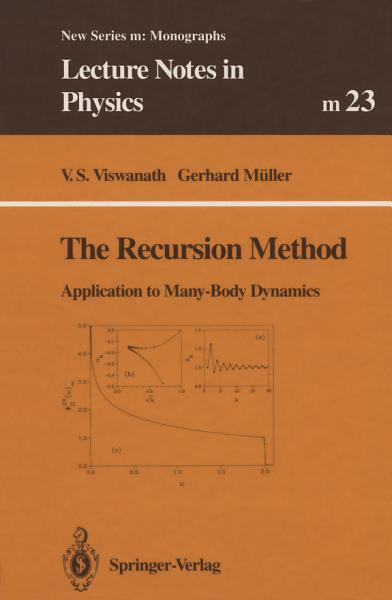 Download The Recursion Method Book