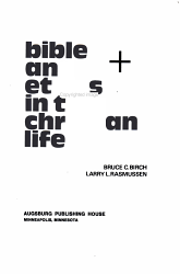 Bible and Ethics in the Christian Life PDF