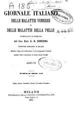 Giornale Italiano delle Malattie Veneree e delle Malattie della Pelle PDF