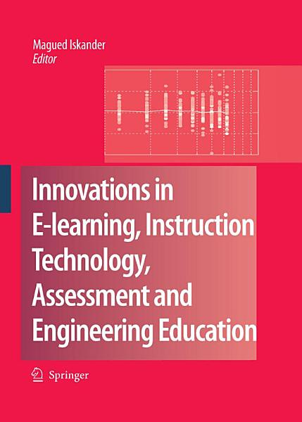 Innovations in E learning  Instruction Technology  Assessment and Engineering Education PDF