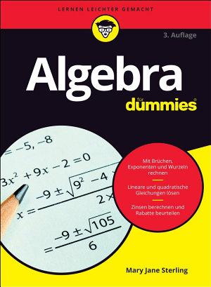 Algebra f  r Dummies PDF