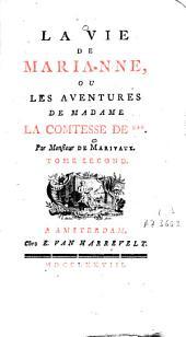 La vie de Marianne, ou Les aventures de madame la comtesse de ***.