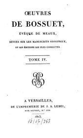 Oeuvres: revues sur les manuscrits originaux et les éditions les plus correctes, Volume4