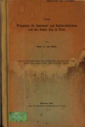 Ueber Wengener, St. Cassianer- und Raibler-Schichten auf der Seiser Alp in Tirol