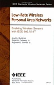 Low rate Wireless Personal Area Networks