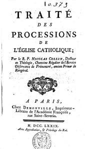 Traité des processions de l'église catholique