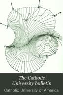 Download The Catholic University Bulletin Book