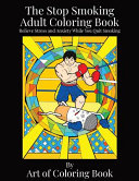 The Stop Smoking Adult Coloring Book