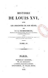 Histoire de Louis XVI, avec les anecdotes de son règne