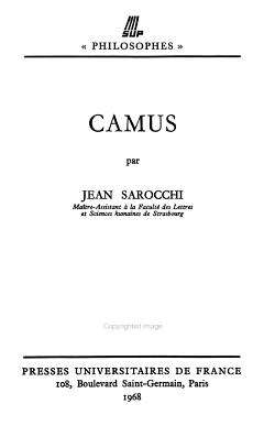 Camus     PDF